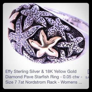 EFFY Starfish Women's Ring